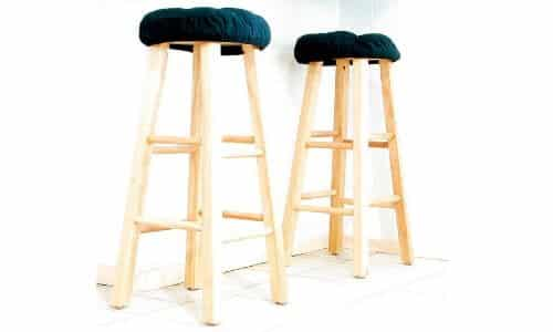 bar stool cushion covers Image via Rennett Stowe creative commons